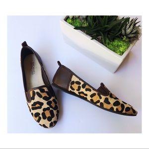 Michael Kors Flats Leopard Print Shoes Loafers